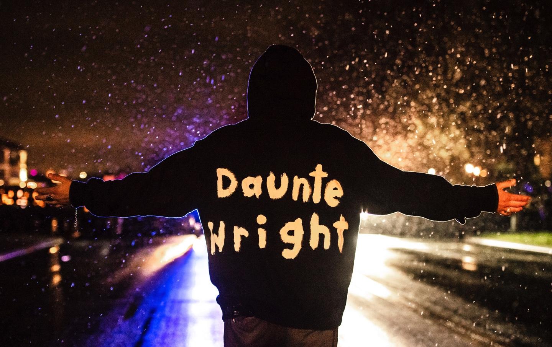 Daunte Wright Protester