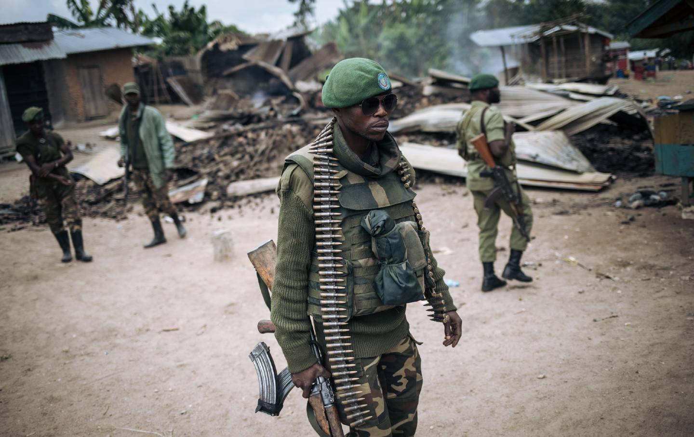 Democractic Republic of Congo soldier