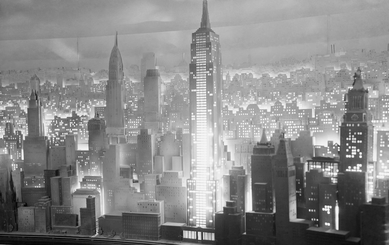 Diorama of Manhattan at 1939 World's Fair