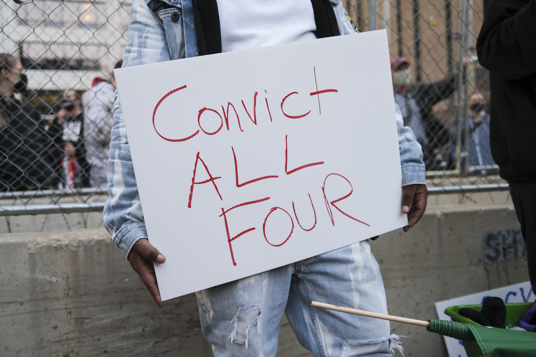 George Floyd protest 2021
