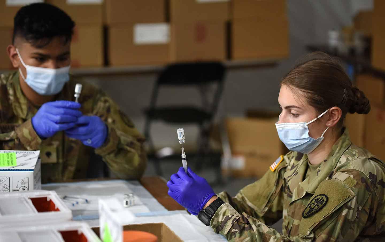 Covid Army Medic