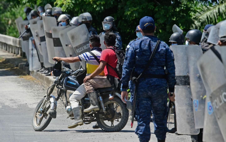 Honduras-Guatemala border