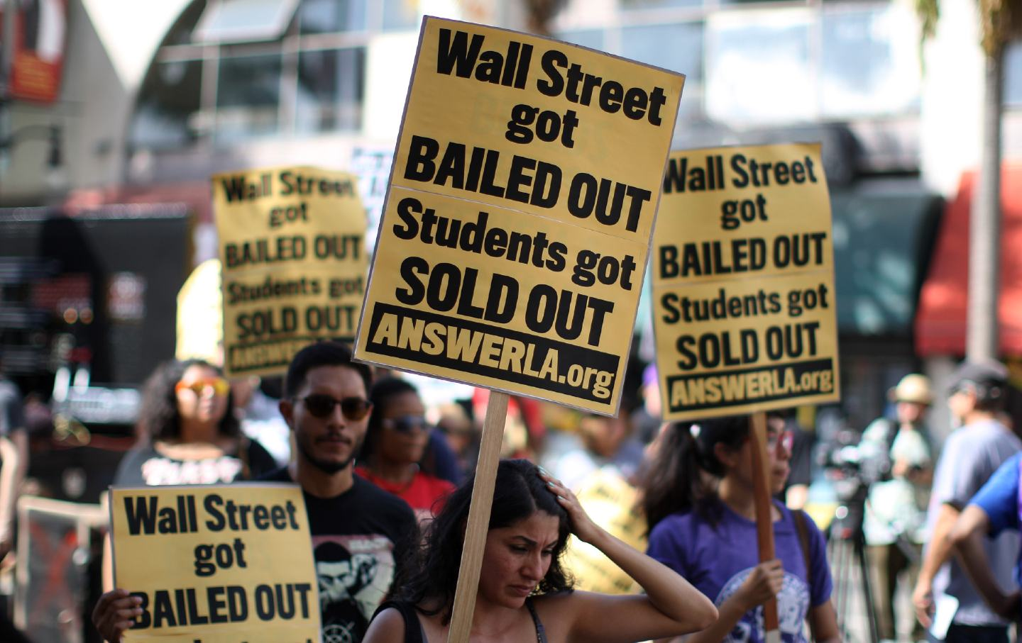 student protest tuition