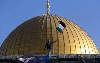 Palestinian Flag Dome of the Rock