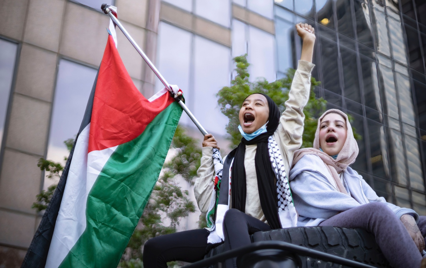 Palestine-solidarity-protest