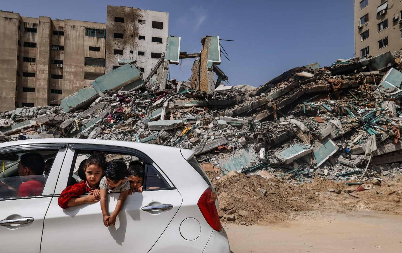 Rubble Gaza