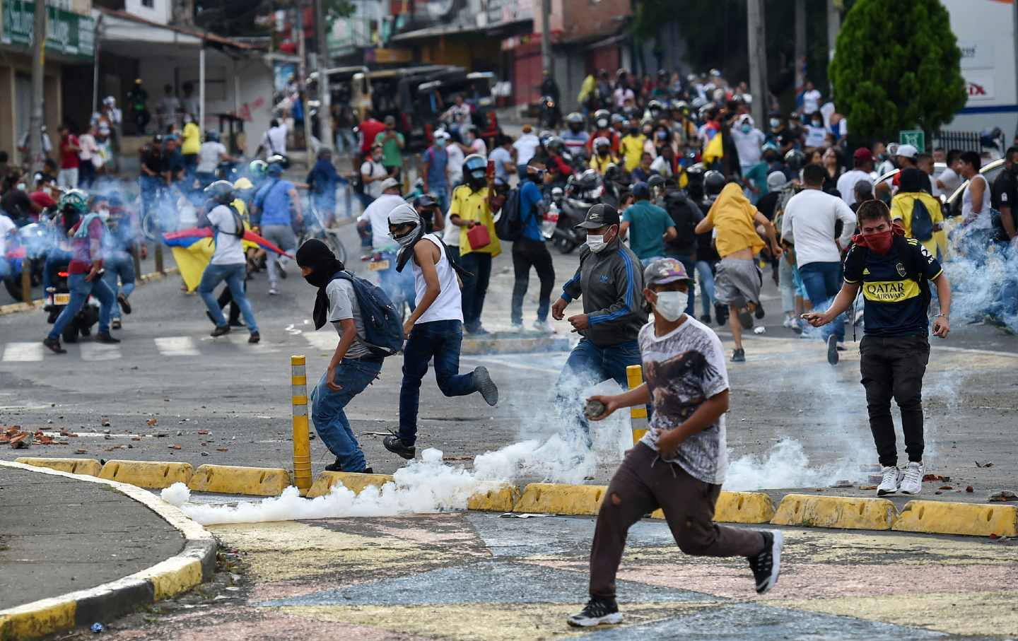 Cali Colombia protests