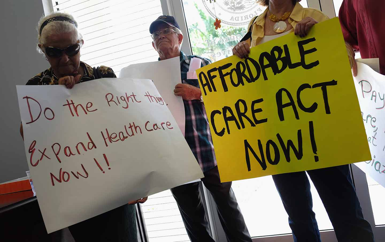 Florida voters demand Medicaid expansion