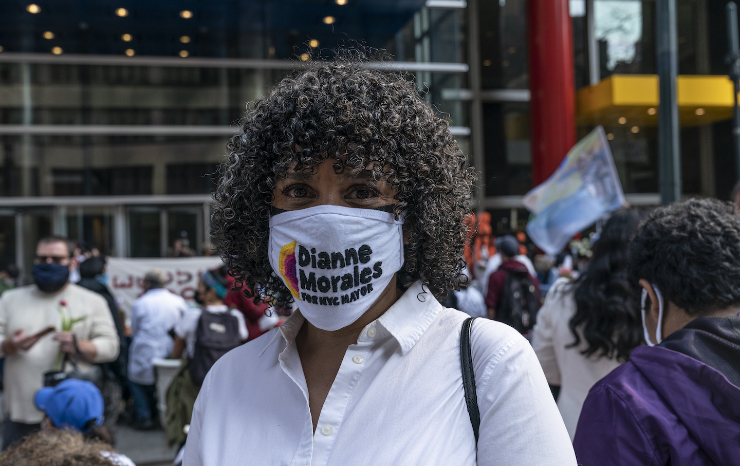 NY: Excluded workers hunger strike Easter rally