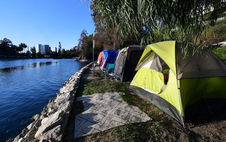 California tent encampments