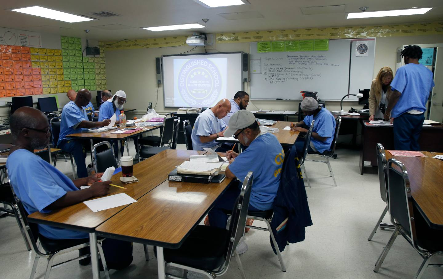 Inmate Students San Quentin