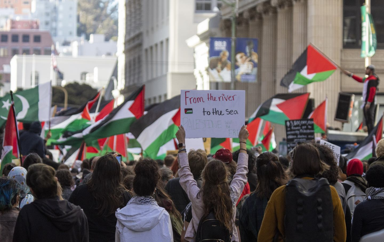 Protest Palestine San Francisco