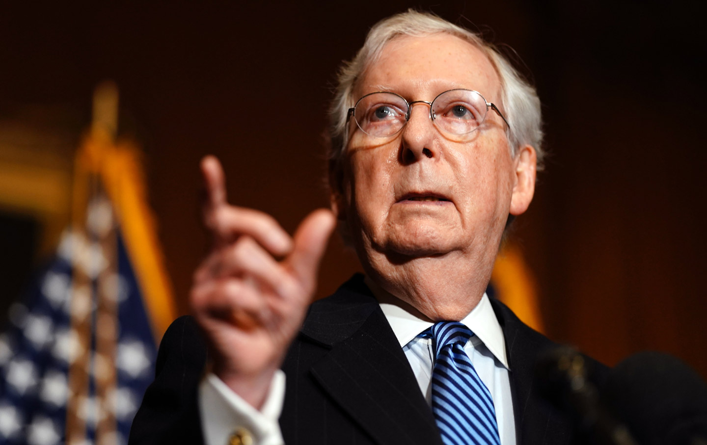 McConnell Explains How He'll Steal Another Supreme Court Pick From Another Democratic President