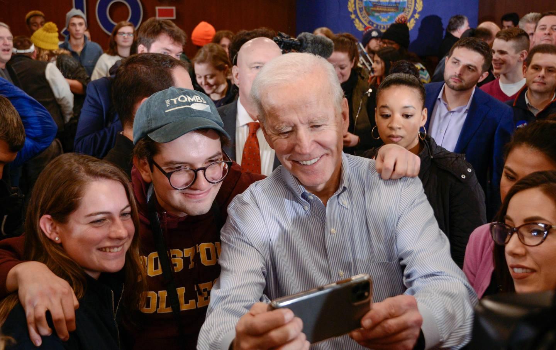 Biden youth support