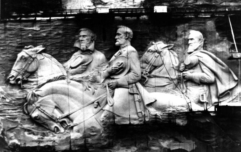 Stone Mountain GA Confederate Monument