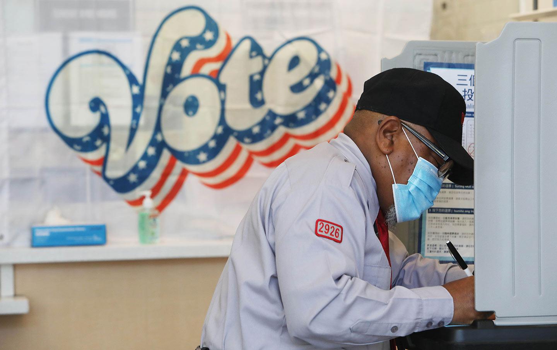 Voting in San Francisco