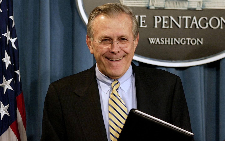 Evil Donald Rumsfeld