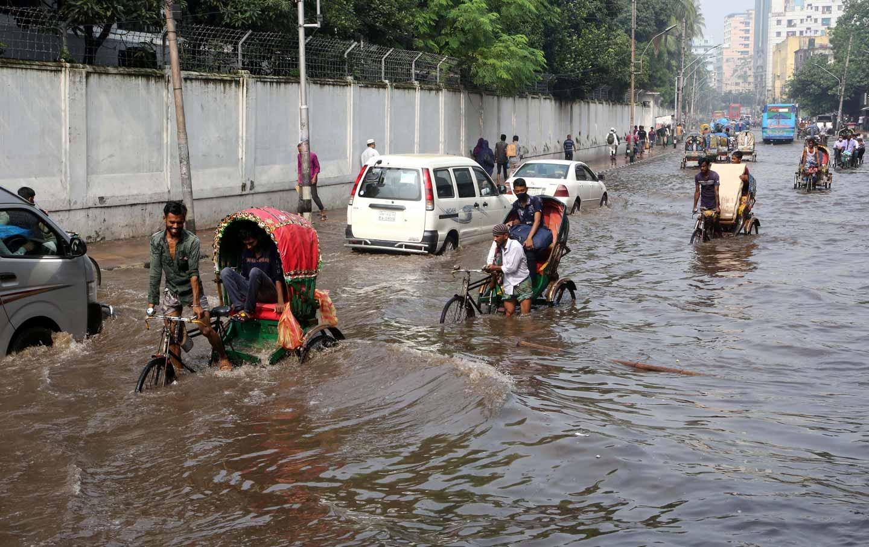 Flooding in Dhaka, Bangladesh