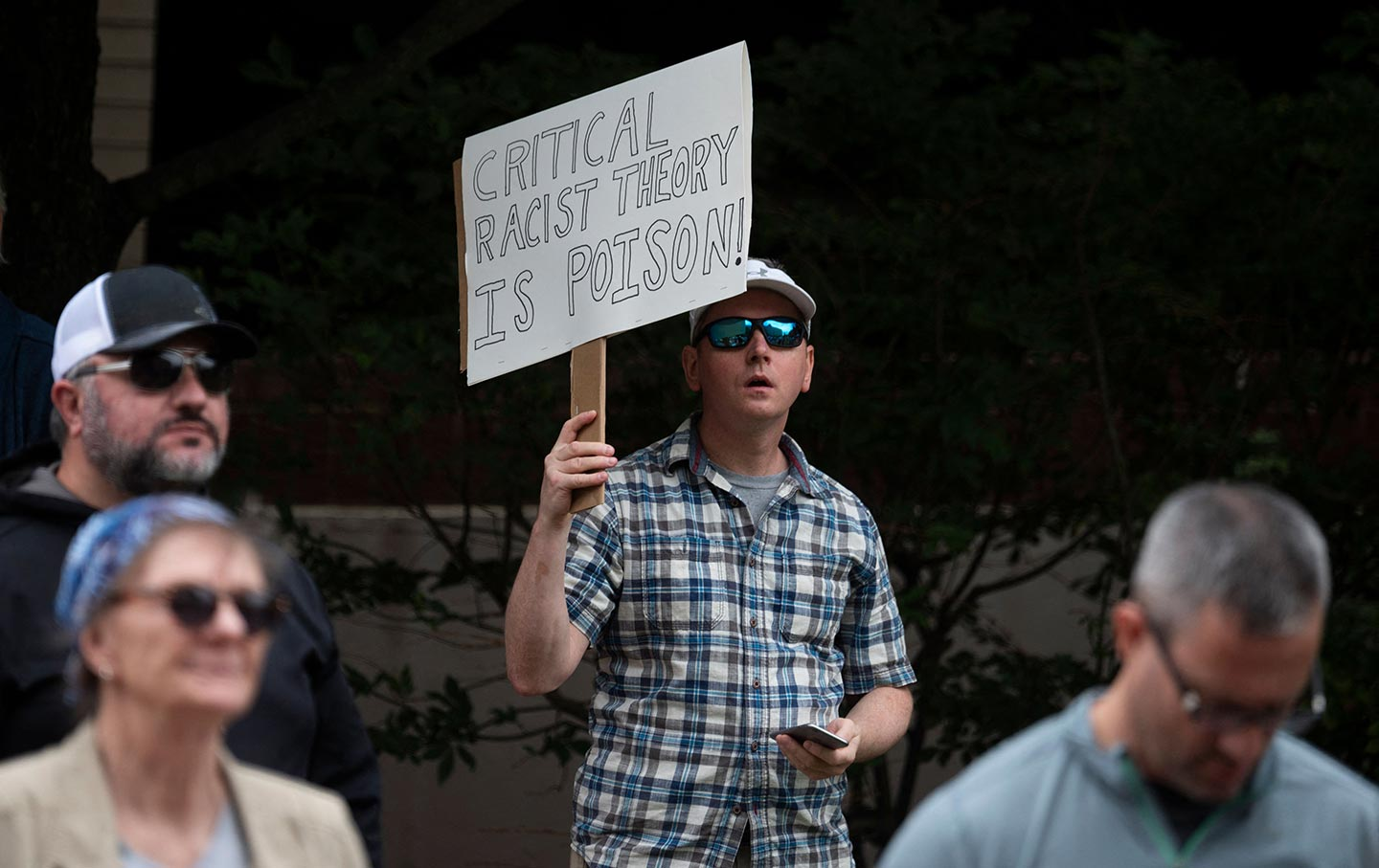 Critical Race Theory protest