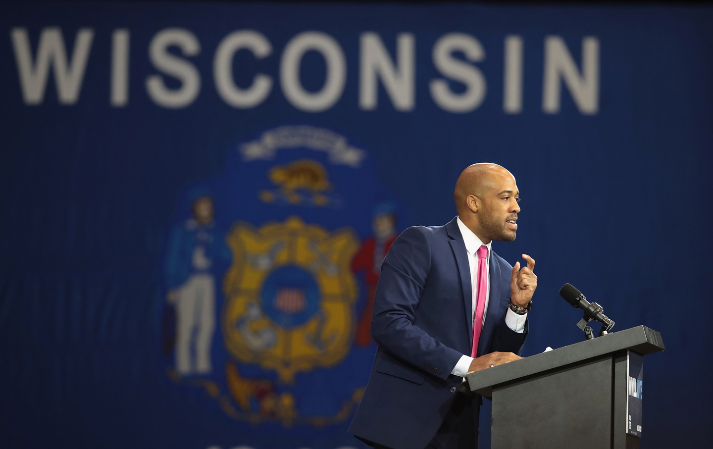A New Entrant in the Race to Take on Ron Johnson Gets a Boost From Progressive Groups