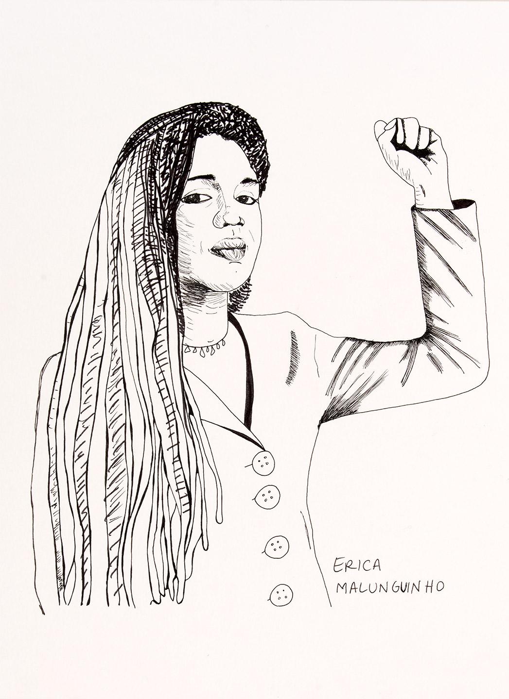 Erica Malunguinho by Carolina Caycedo
