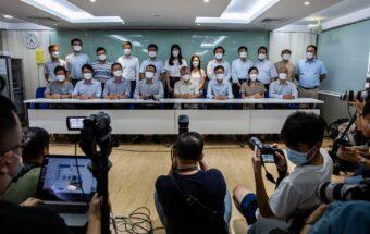 HONG KONG-CHINA-EDUCATION-POLITICS