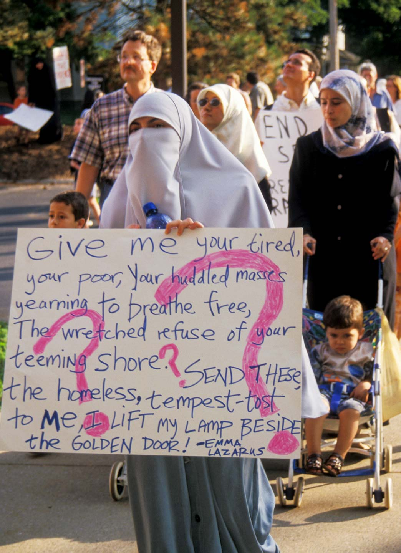 Anti-Afghan War Protest