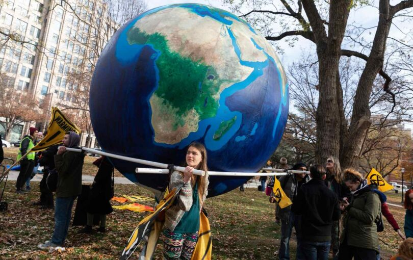 Climate Change Protest In Washington, D.C.