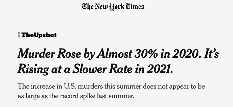 NYT Murder Statistics Reporting