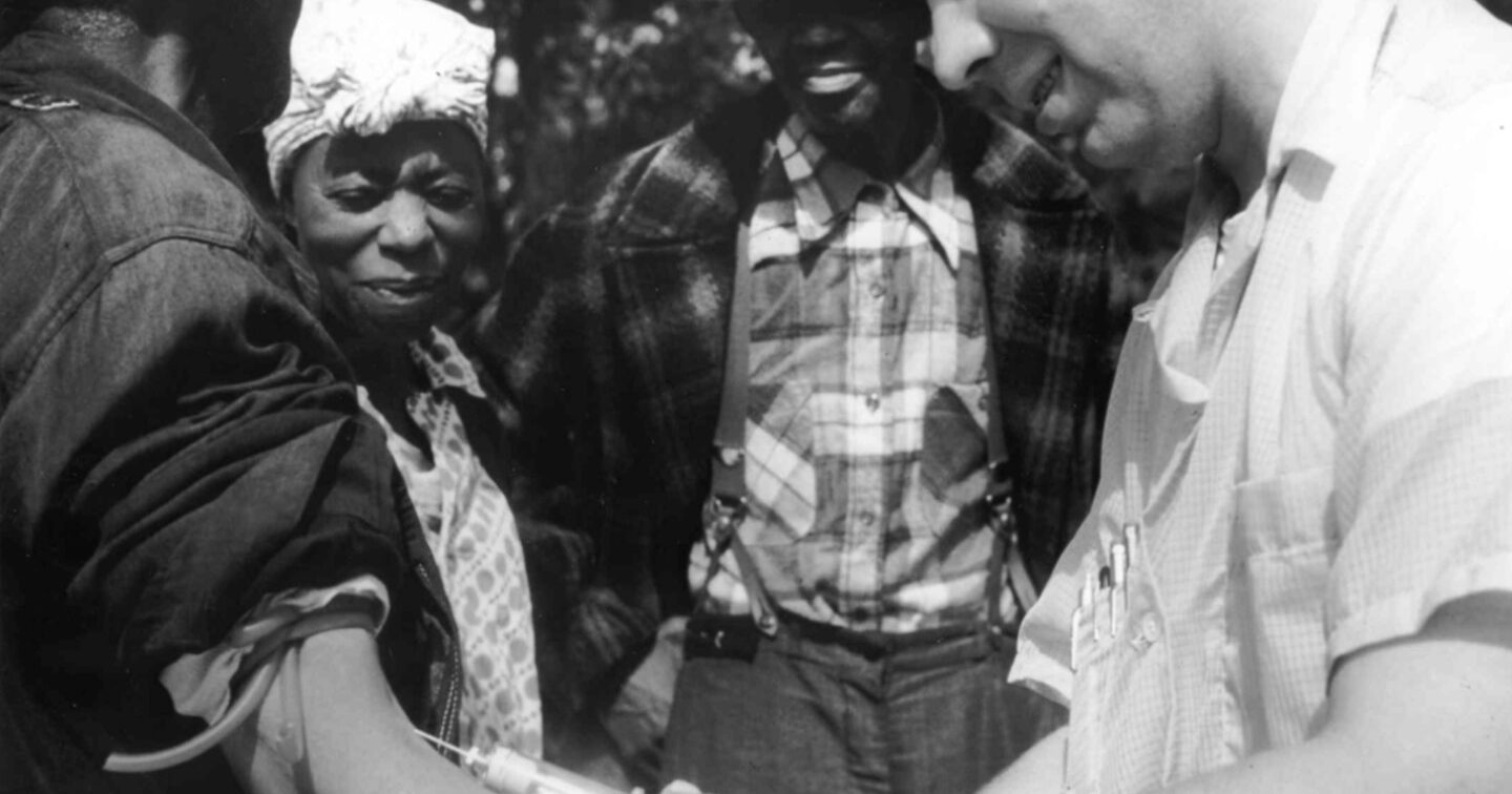 Tuskegee Study Drawing Blood